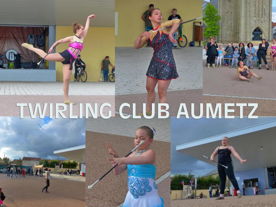 Twirling club